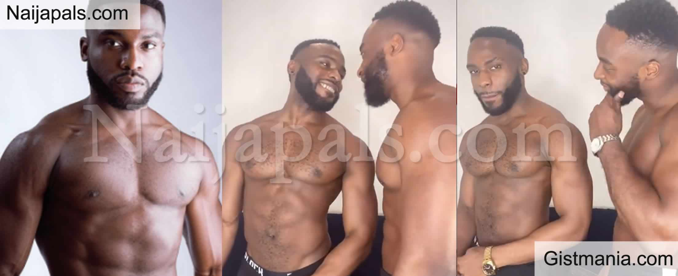 <img alt='.' class='lazyload' data-src='https://img.gistmania.com/emot/video.gif' /> Reactions as <b>Doyin Okupe's Son, Bolu Shares Romantic Video With His Gay Partner</b>