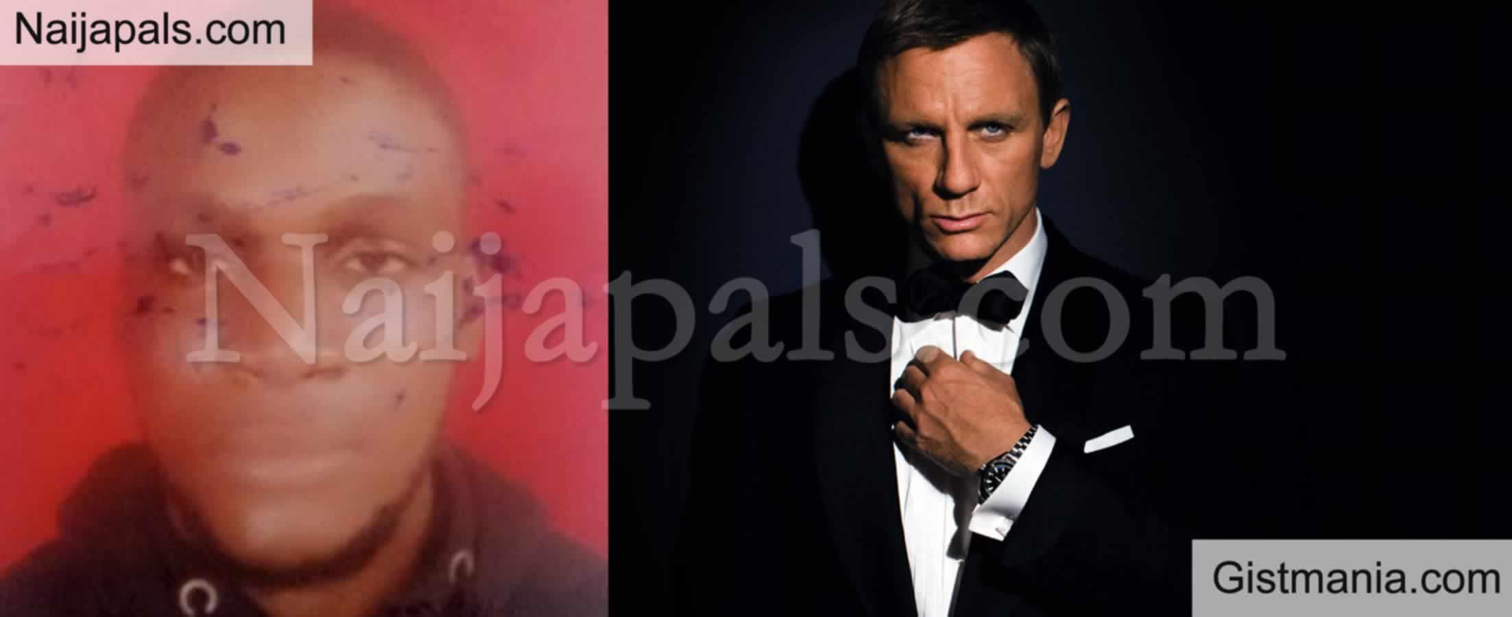<img alt='.' class='lazyload' data-src='https://img.gistmania.com/emot/shocked.gif' /> Say What? <b>Yahoo Boy Bags 2 Year Jail Term For Impersonating James Bond Actor, Daniel Craig </b>