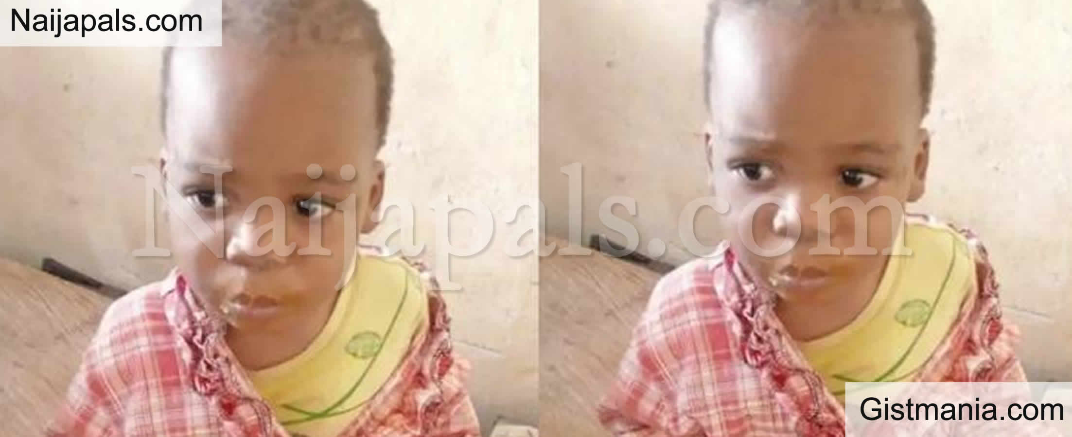 <img alt='.' class='lazyload' data-src='https://img.gistmania.com/emot/comment.gif' /> <b>Police In Search Of Parents Of Boy Wondering Around By A Vigilante Group In Anambra</b>