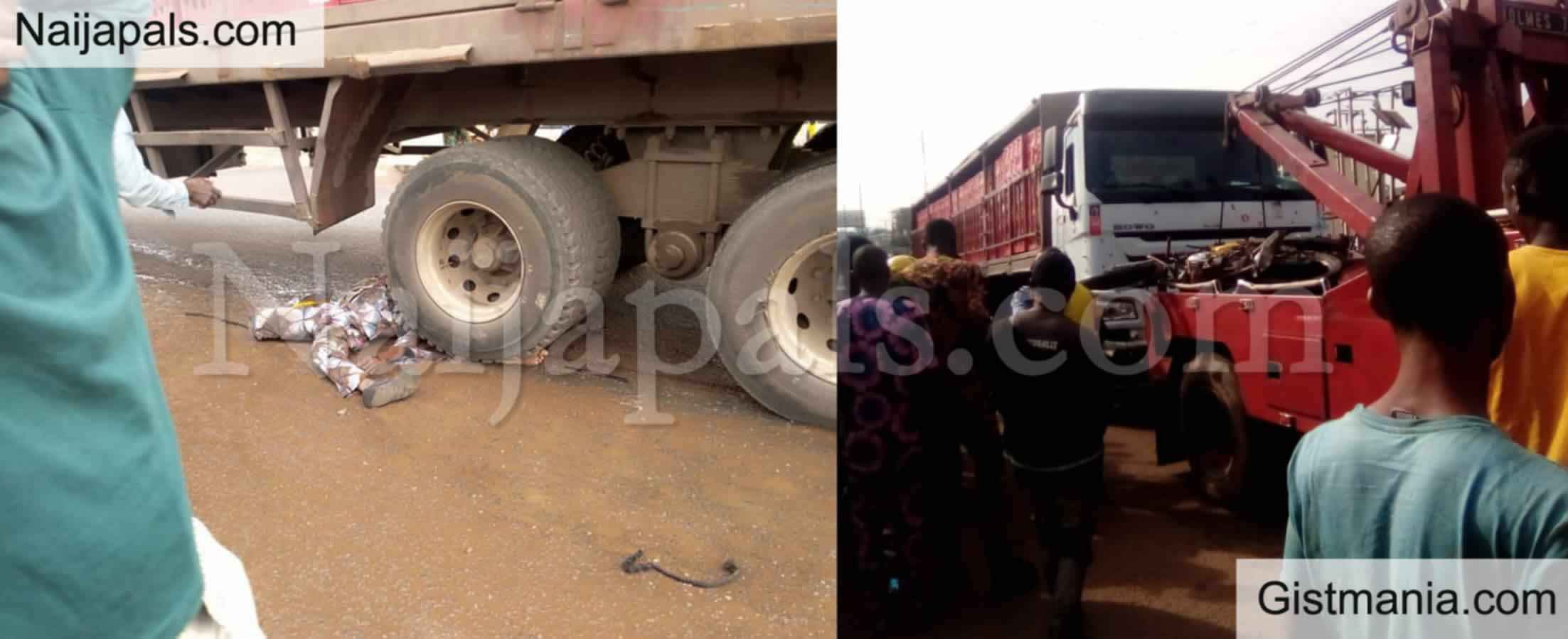 <img alt='.' class='lazyload' data-src='https://img.gistmania.com/emot/shocked.gif' /> BLACK WEDNESDAY: <b>3 Persons Crushed To Death By Trailer In Ibadan, Oyo State</b>