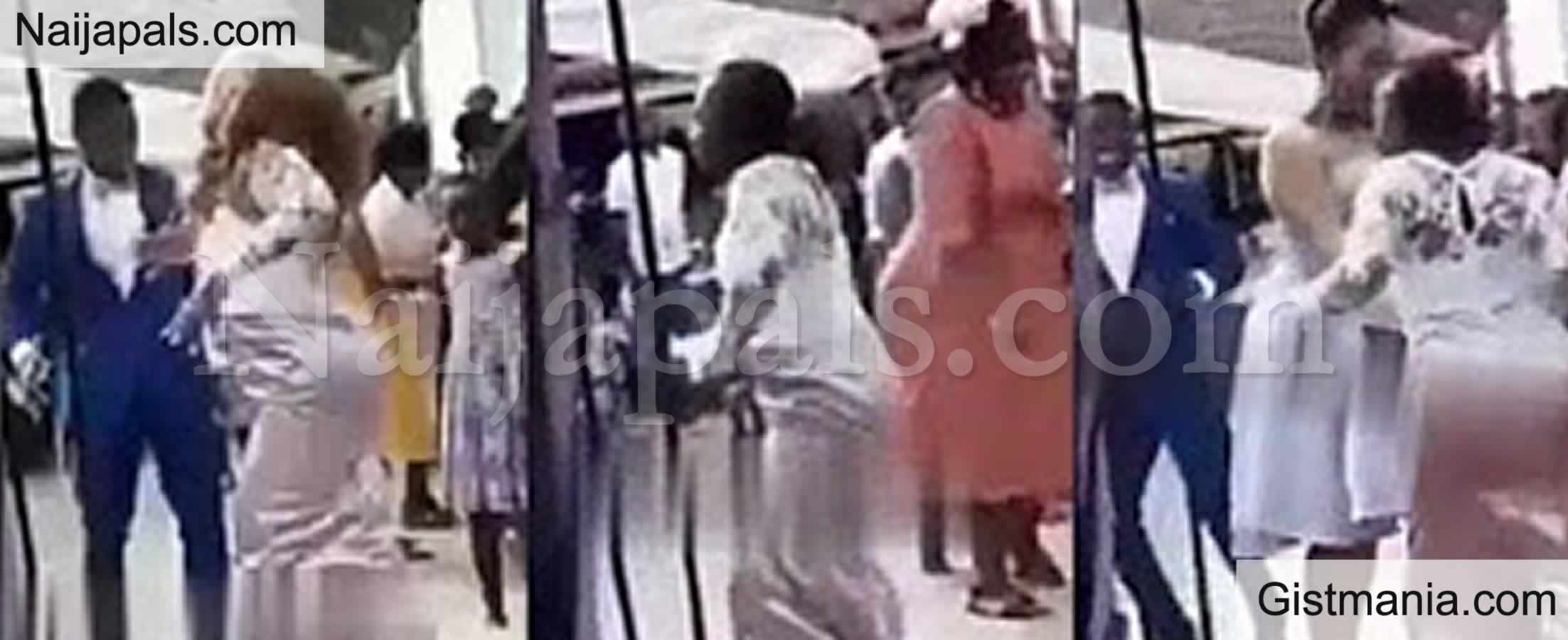 <img alt='.' class='lazyload' data-src='https://img.gistmania.com/emot/video.gif' /> Video: <b>Bride Expresses Her Joy By Pulling Off Her Wig While Dancing At Her Wedding</b>