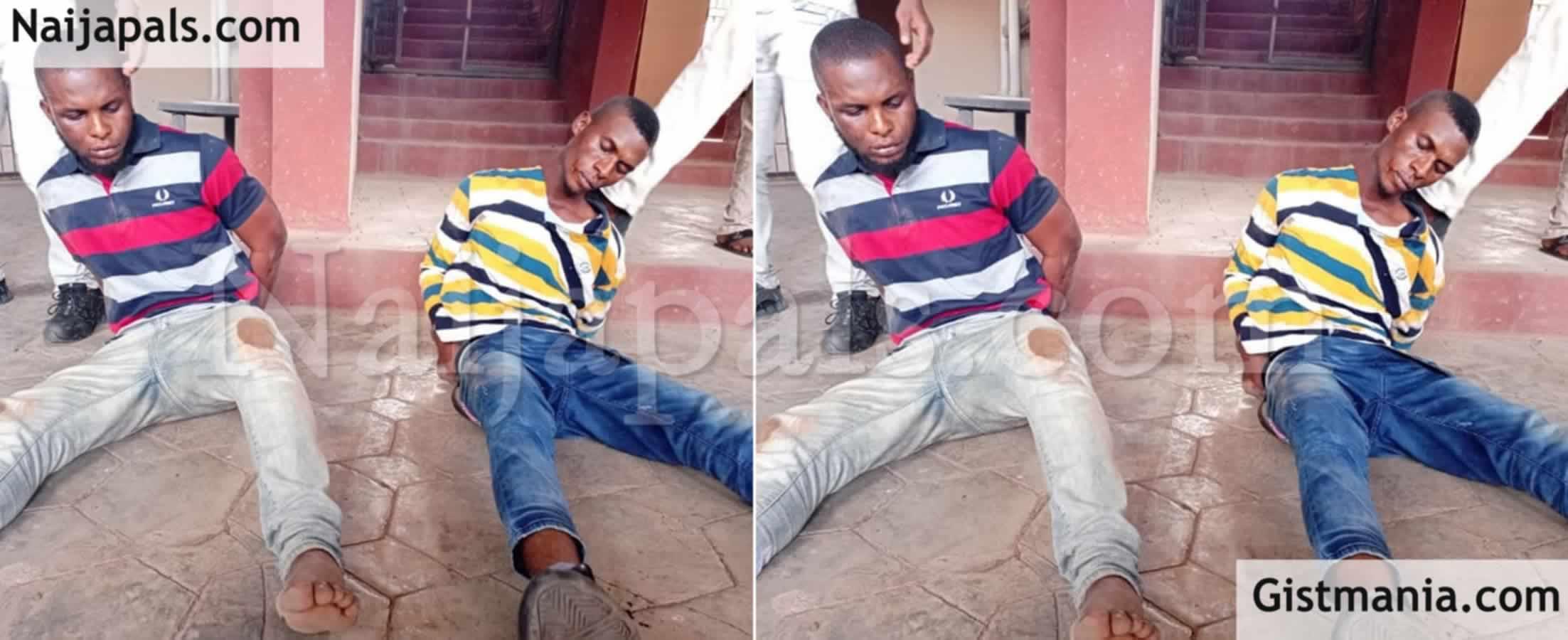 <img alt='.' class='lazyload' data-src='https://img.gistmania.com/emot/news.gif' /> <b>Ondo State Police Arrest Two Brothers, Segun & Azeez Adeoye For Killing A Student, Seun Akinsiku</b>