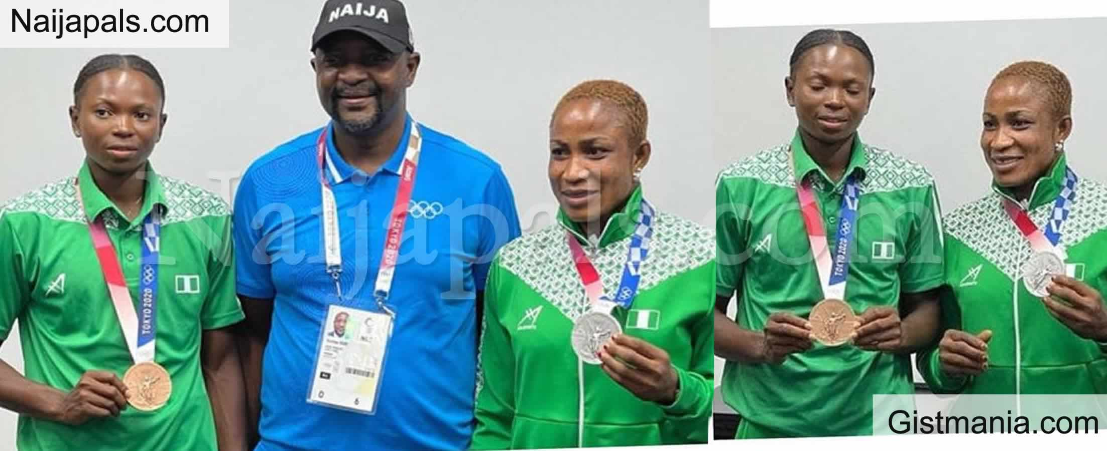 <img alt='.' class='lazyload' data-src='https://img.gistmania.com/emot/thumbs_up.gif' /> <b>Federal Govt Rewards Olympic Medalists Oborududu and Brume With Cash Gifts</b>