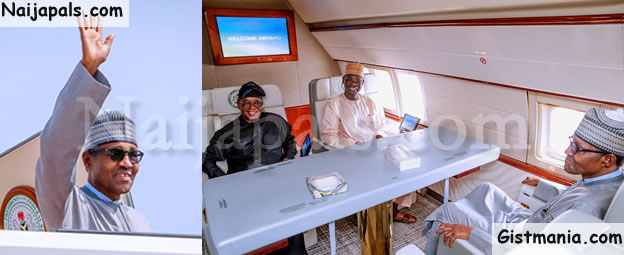 President Buhari Heads to Russia For A 3 Day Summit
