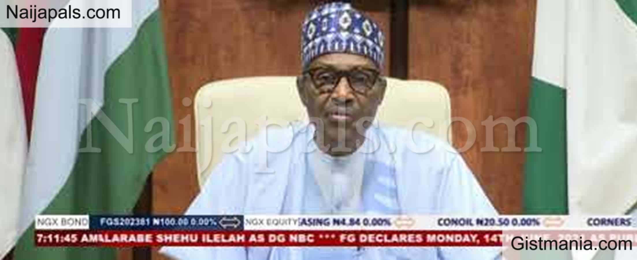 <img alt='.' class='lazyload' data-src='https://img.gistmania.com/emot/news.gif' /> UPDATE:<b> Afenifere, MBF, PANDEF, CAN Others Raise Concern Over Buhari's June 12 speech</b>