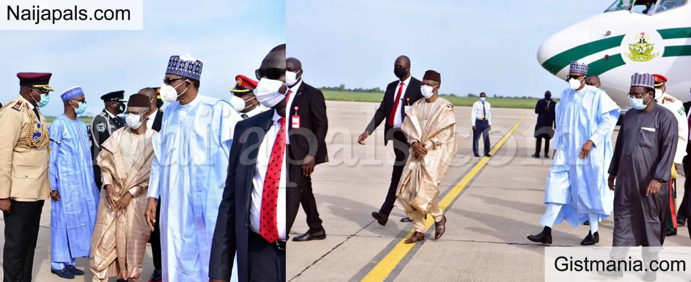 <img alt='.' class='lazyload' data-src='https://img.gistmania.com/emot/news.gif' /> BREAKING: <b>President Buhari Set To Depart Abuja To France On Sunday</b>