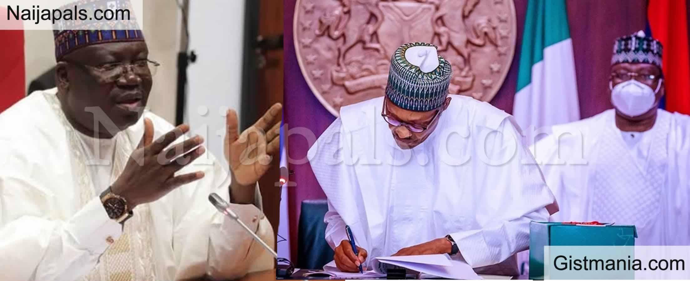<img alt='.' class='lazyload' data-src='https://img.gistmania.com/emot/comment.gif' /> <b>Senate Blames Obasanjo, Yar'Adua, Jonathan For President Buhari's Constant Borrowing</b>