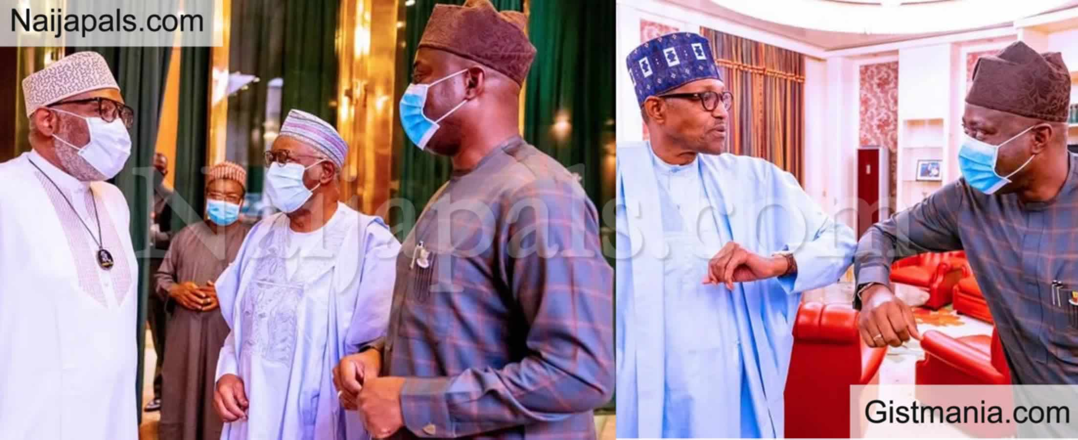 <img alt='.' class='lazyload' data-src='https://img.gistmania.com/emot/news.gif' /> Just In:<b> Governor Makinde And Governor Akeredolu Meets President Buhari In Aso Rock</b> (PHOTOS)