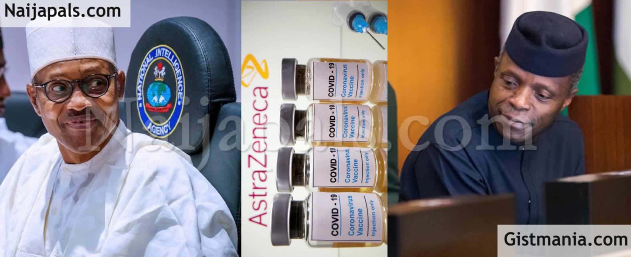 <img alt='.' class='lazyload' data-src='https://img.gistmania.com/emot/news.gif' /><b> Nigerians React After Buhari Takes Shot Of AstraZeneca Vaccine As Australia Suspends Usage Over Death Of A Person</b>