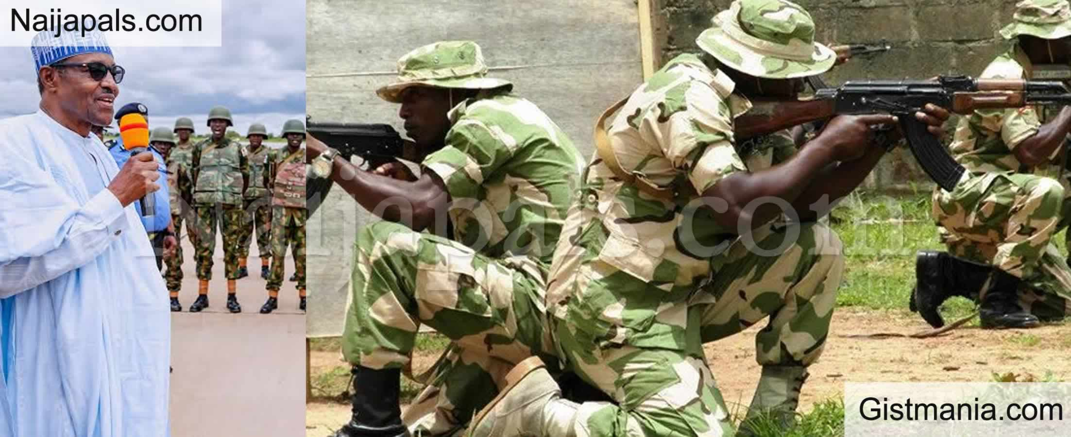 <img alt='.' class='lazyload' data-src='https://img.gistmania.com/emot/shocked.gif' /> <b>356 Soldiers Apply For Voluntary Retirement Citing Loss Of Interest In The Nigerian Army</b>