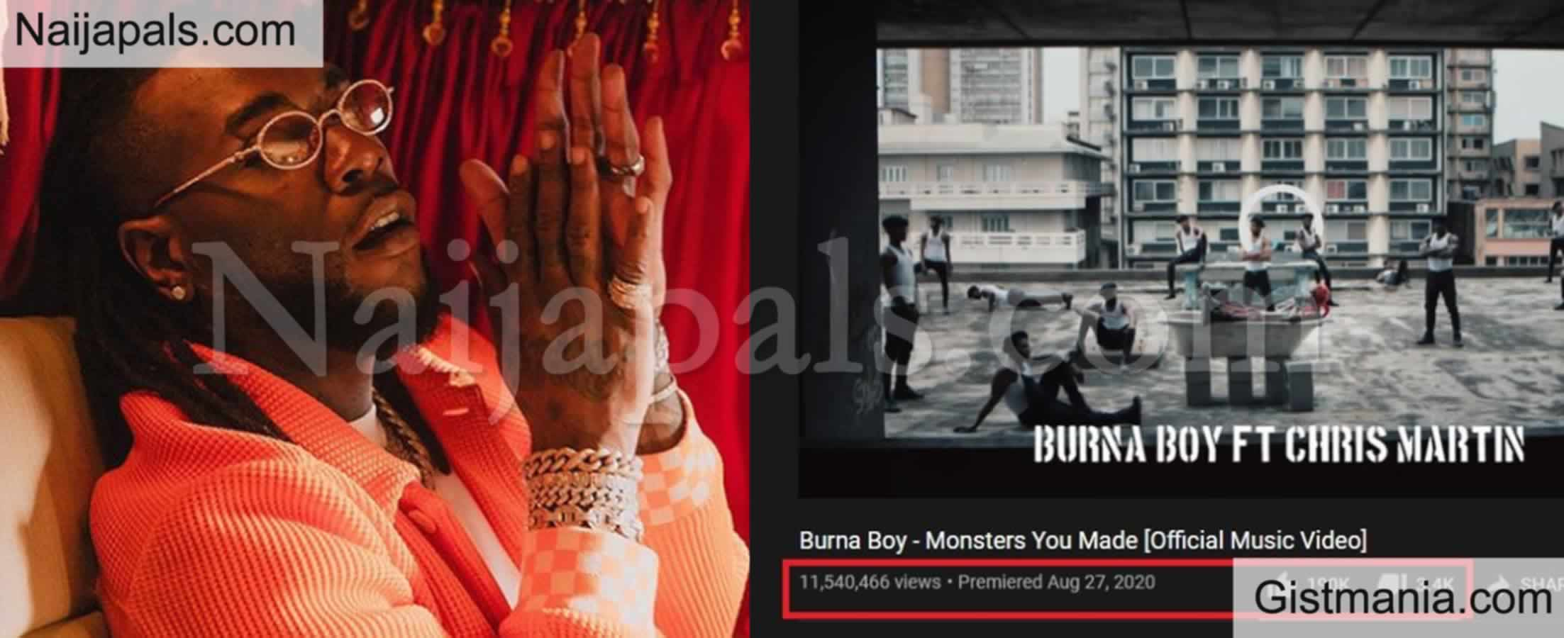 <img alt='.' class='lazyload' data-src='https://img.gistmania.com/emot/comment.gif' /> <b>Fans Call Out Grammy Winner Burna Boy For Buying Fake YouTube Views For 'Monsters We Made' </b>