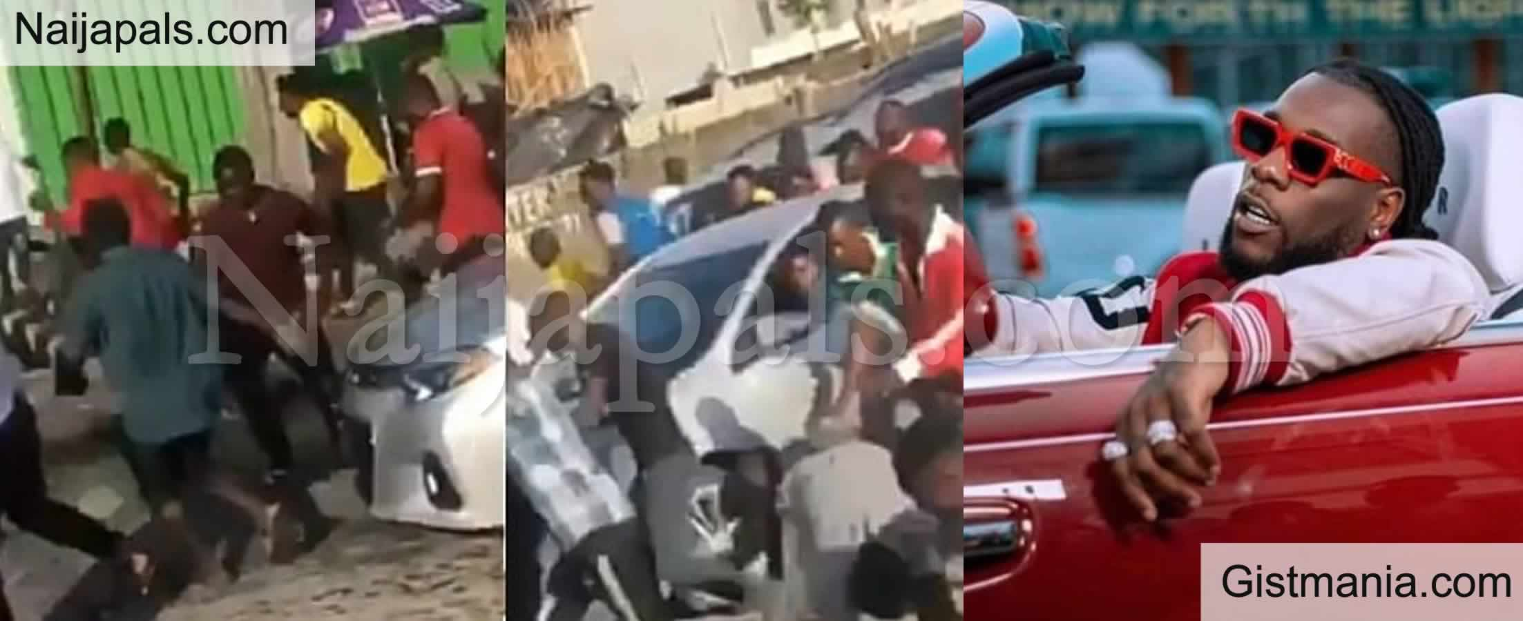<img alt='.' class='lazyload' data-src='https://img.gistmania.com/emot/video.gif' /> <b>Burna Boy Caused Commotion After He Threw Wads Of Cash From His Moving Car in Lagos </b>(VID)