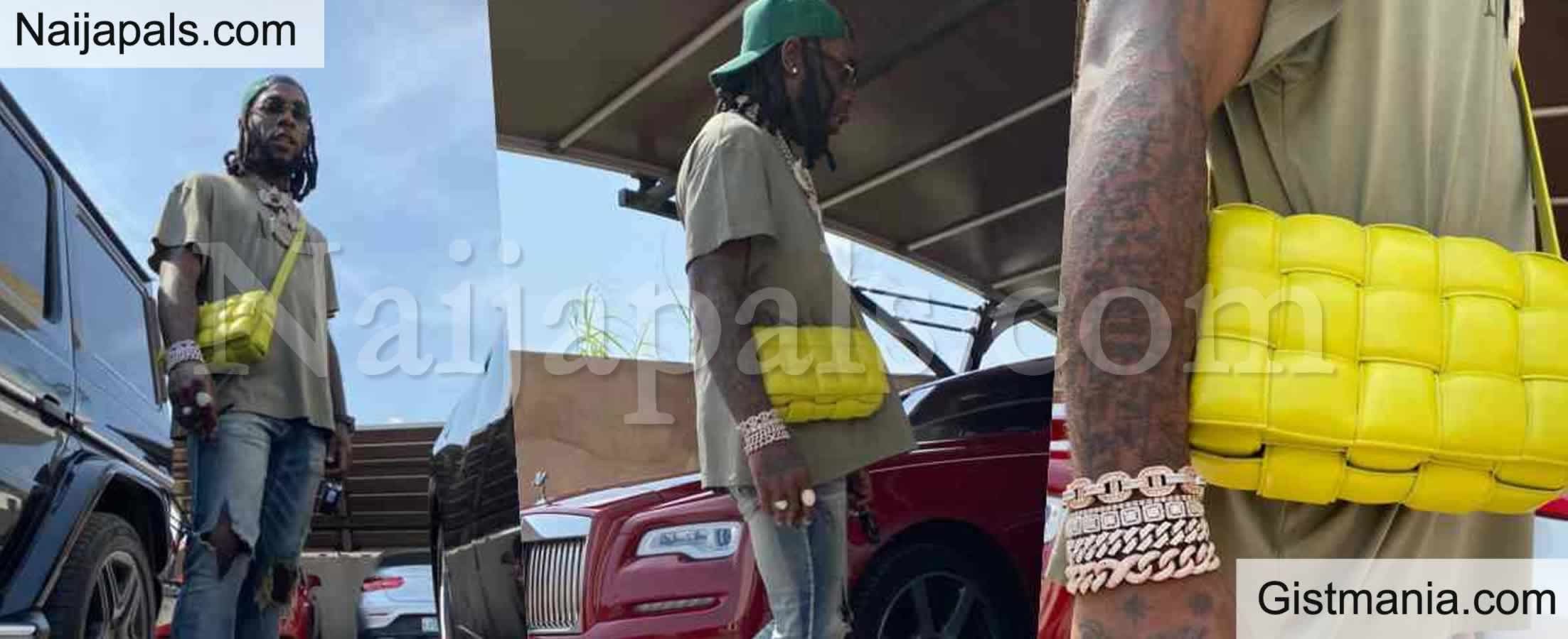 <img alt='.' class='lazyload' data-src='https://img.gistmania.com/emot/comment.gif' /> No Be Stefflon Don's Bag Be This? <b>Burna Boy Mocked Over His New N1.2m Designers Handbag</b> (Photos)