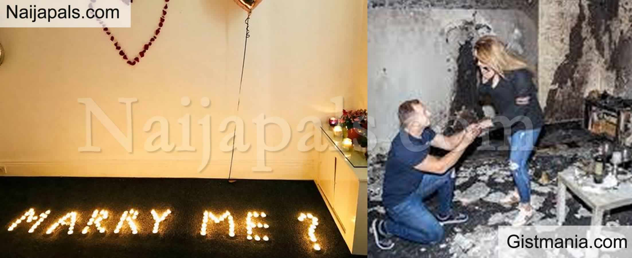 <img alt='.' class='lazyload' data-src='https://img.gistmania.com/emot/shocked.gif' /> <b>Man Accidentally Burns His Apartment As His 'Romantic' Proposal Goes Horribly Wrong</b> (Photos)