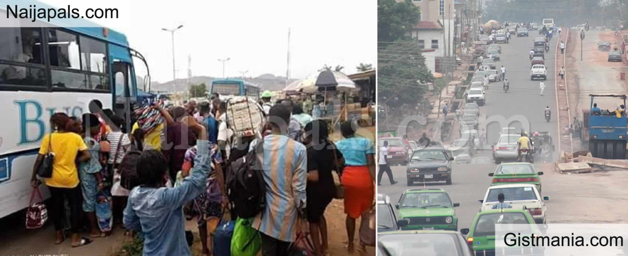 <img alt='.' class='lazyload' data-src='https://img.gistmania.com/emot/cry.gif' /> <b>Panic As a Middle Aged Woman Slumped and Died in A Public Bus in Ekiti</b>