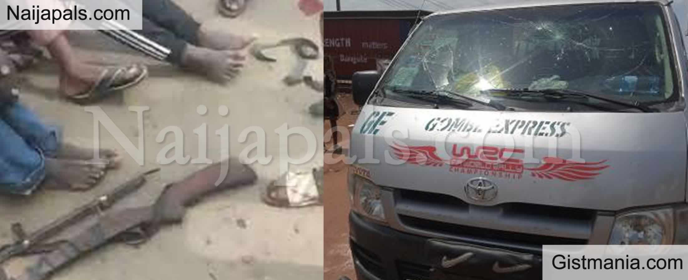 <img alt='.' class='lazyload' data-src='https://img.gistmania.com/emot/news.gif' /> <b>Bus Conveying Northerners To Lagos Intercepted by June 12 Protesters, Guns Recovered</b>