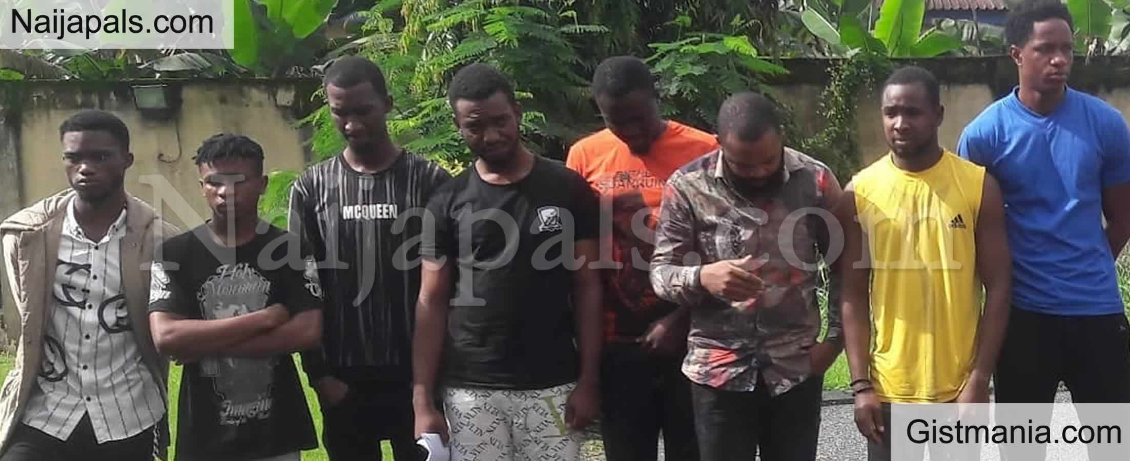 <img alt='.' class='lazyload' data-src='https://img.gistmania.com/emot/news.gif' /> PHOTOS: <b>Court Sentence 14 Yahoo Boys to Jail in Calabar</b>