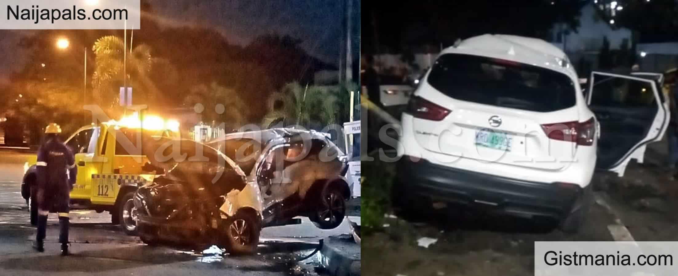 <img alt='.' class='lazyload' data-src='https://img.gistmania.com/emot/news.gif' /> <b>Man Dies In Banana Island Following 1am Crash In High Speed SUV</b>