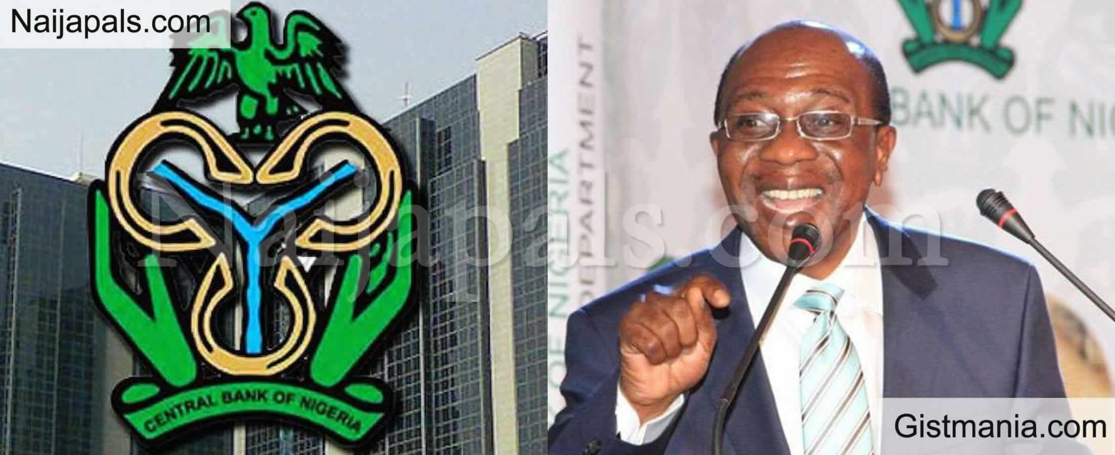 <img alt='.' class='lazyload' data-src='https://img.gistmania.com/emot/news.gif' /> <b>CBN Governor, Godwin Emefiele Confirms Naira Fall to N410 Per Dollar at Official Market</b>
