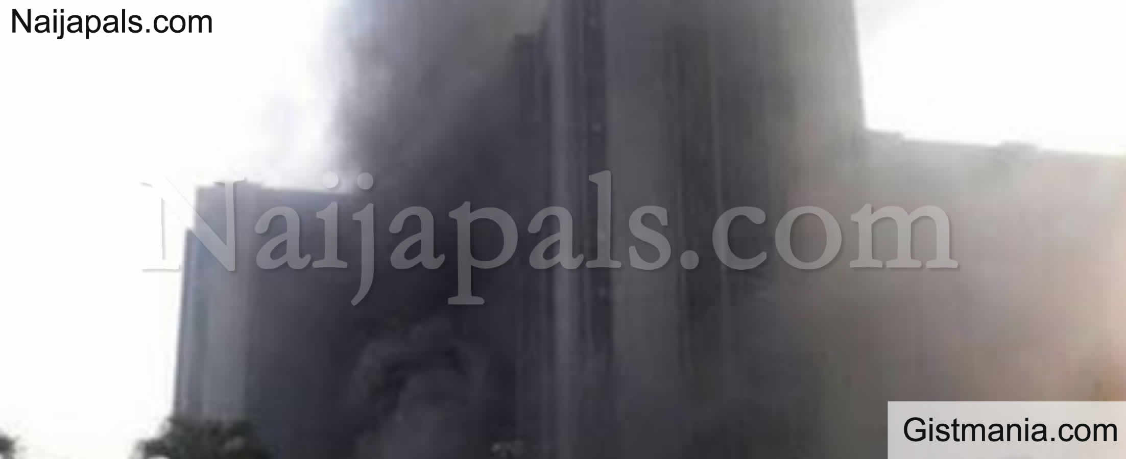 <img alt='.' class='lazyload' data-src='https://img.gistmania.com/emot/fire.gif' /> BREAKING: <b>Gombe CBN Gutted By Fire, Destroys Branch Controller Office</b>
