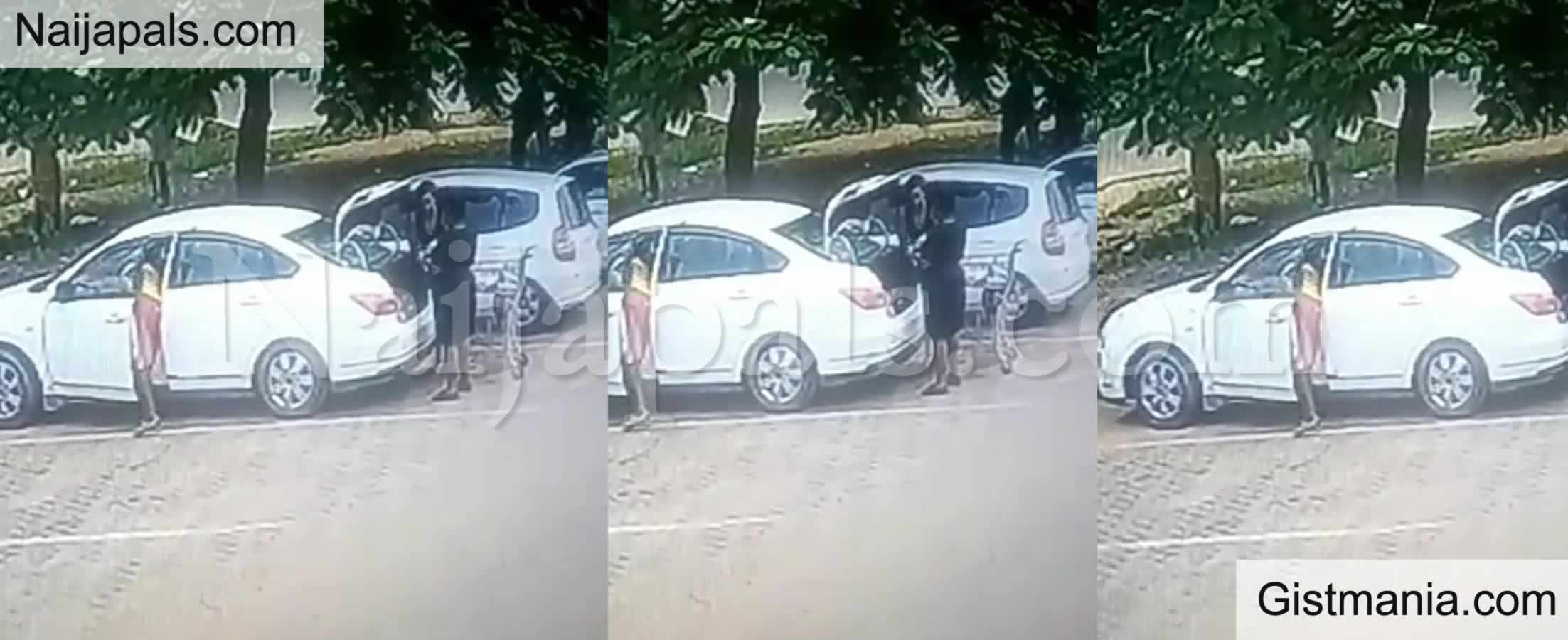<img alt='.' class='lazyload' data-src='https://img.gistmania.com/emot/video.gif' /> <b>CCTV Captures Boy Stealing From A Woman's Car While She Was Putting Shopping Bags In Her Trunk</b>