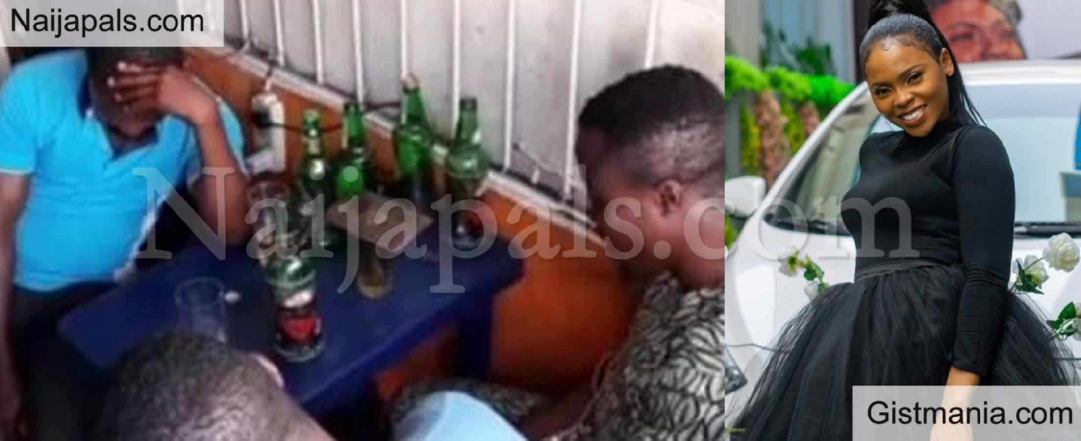 <img alt='.' class='lazyload' data-src='https://img.gistmania.com/emot/grin.gif' /> Video Of Nigerian Artist, <b>Chindinma Ekile Preaching At A Beer Parlour </b>
