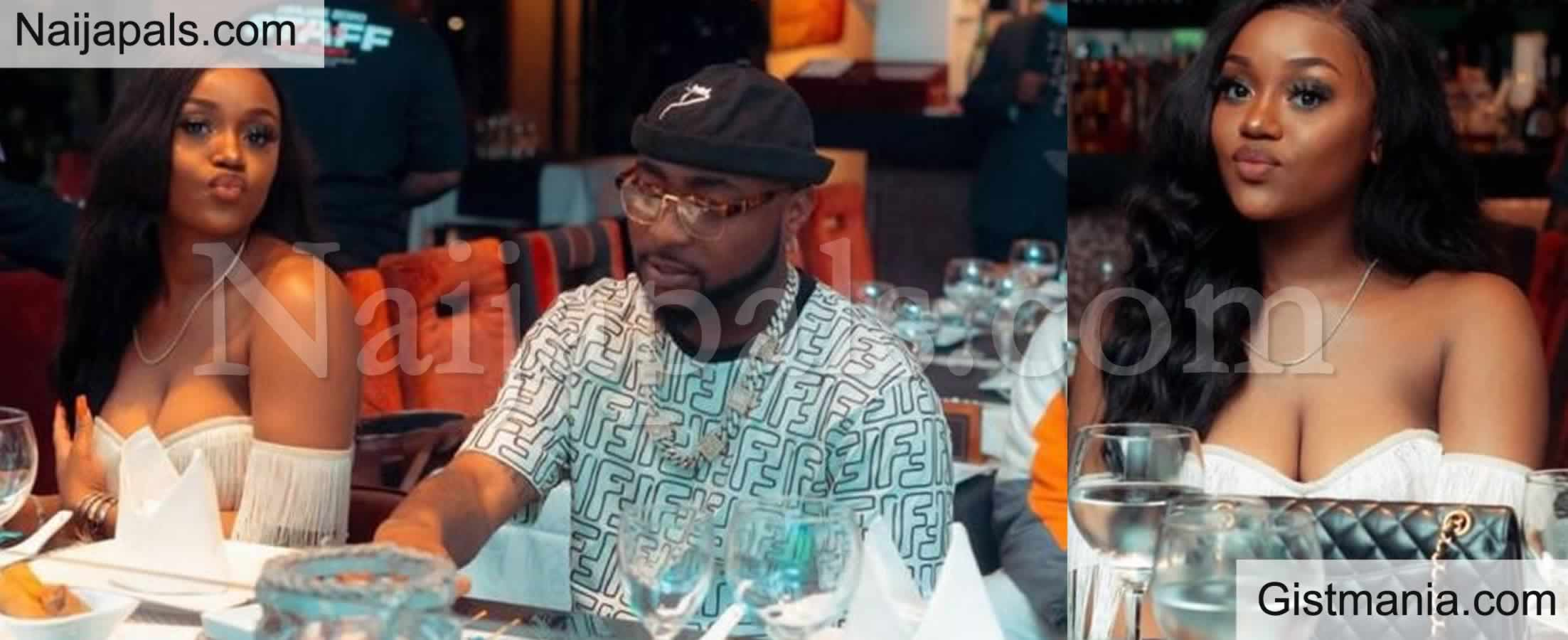 <img alt='.' class='lazyload' data-src='https://img.gistmania.com/emot/fire.gif' /> <b>Chioma Avril Puts Her Full Cleavage on Display As She Enjoys A Date Night With Davido</b> (Photos)