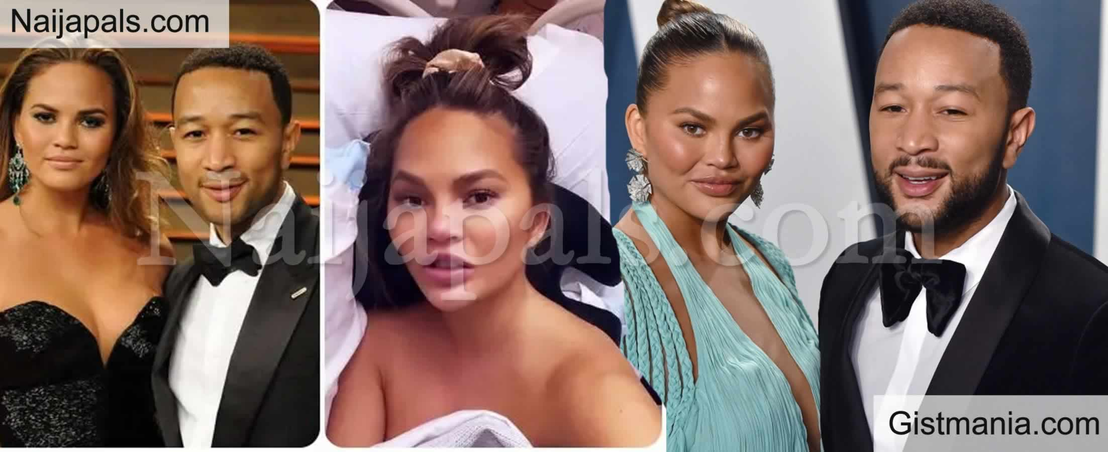 <img alt='.' class='lazyload' data-src='https://img.gistmania.com/emot/shocked.gif' /> <b>Chrissy Teigen, Wife Of John Legend Hospitalised After Suffering Bleeding During Pregnancy</b>