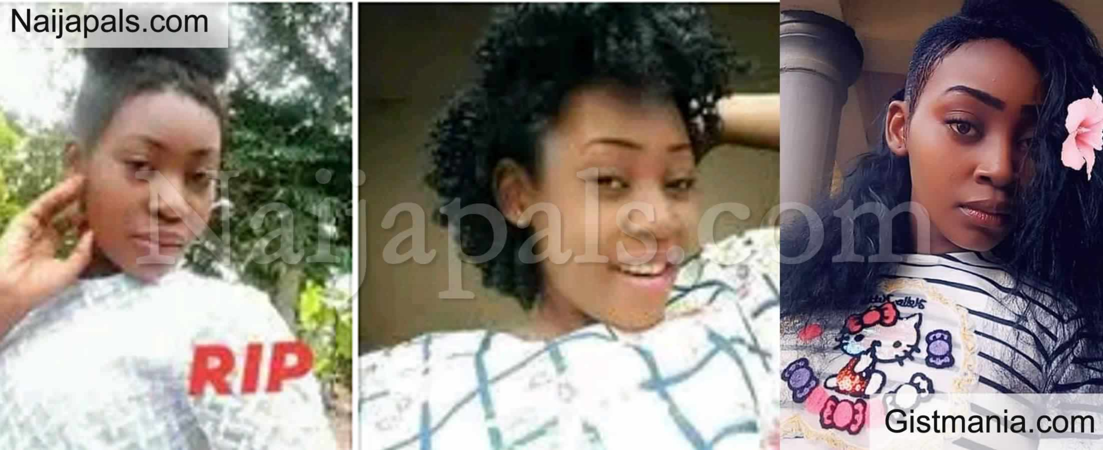 <img alt='.' class='lazyload' data-src='https://img.gistmania.com/emot/cry.gif' /> <b>Clement Ruth, A Final Year Student Found Dead Few Days to Her Graduation in Anambra</b> (Photos)