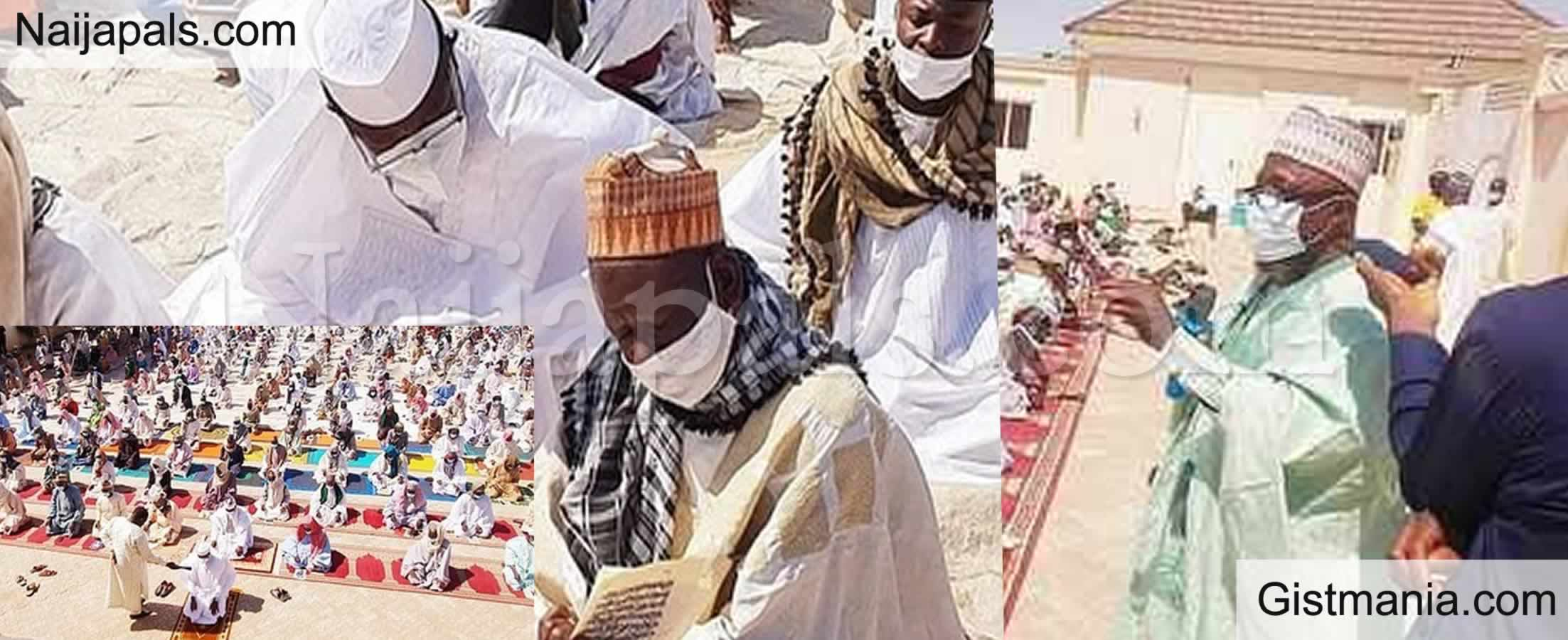<img alt='.' class='lazyload' data-src='https://img.gistmania.com/emot/comment.gif' /> Photos: <b>1000 Clerics Convene To Pray For Buhari, Nigeria In Kano</b>