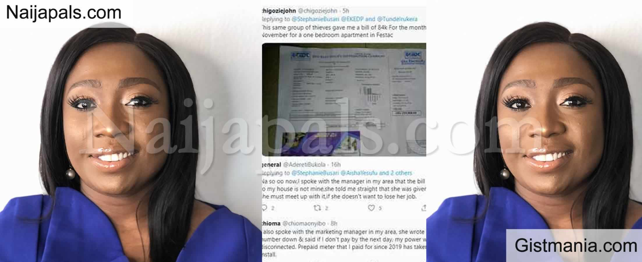 <img alt='.' class='lazyload' data-src='https://img.gistmania.com/emot/comment.gif' /> <b>CNN Correspondent, Stephanie Busari Laments After Receiving Electricity Bill Of N150k</b>