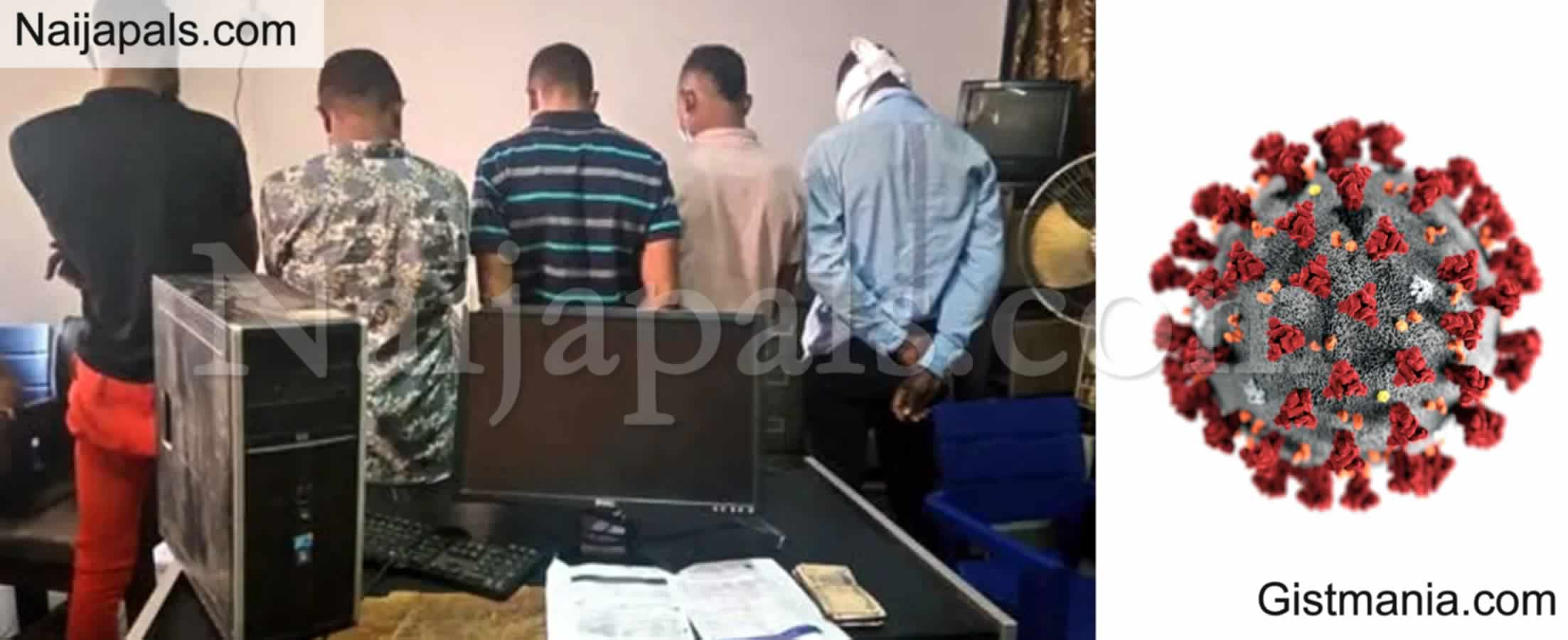 <img alt='.' class='lazyload' data-src='https://img.gistmania.com/emot/news.gif' /> <b>CID Bust Syndicate Selling COVID-19 Test Certificate For N50K At Lagos Airport</b>