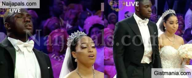 Pastor Chris Oyakhilome Gave Out His Only Begotten Daughter In Marriage To Her Ghanaian Lover Philip Frimpong An Elaborate Ceremony London Held At