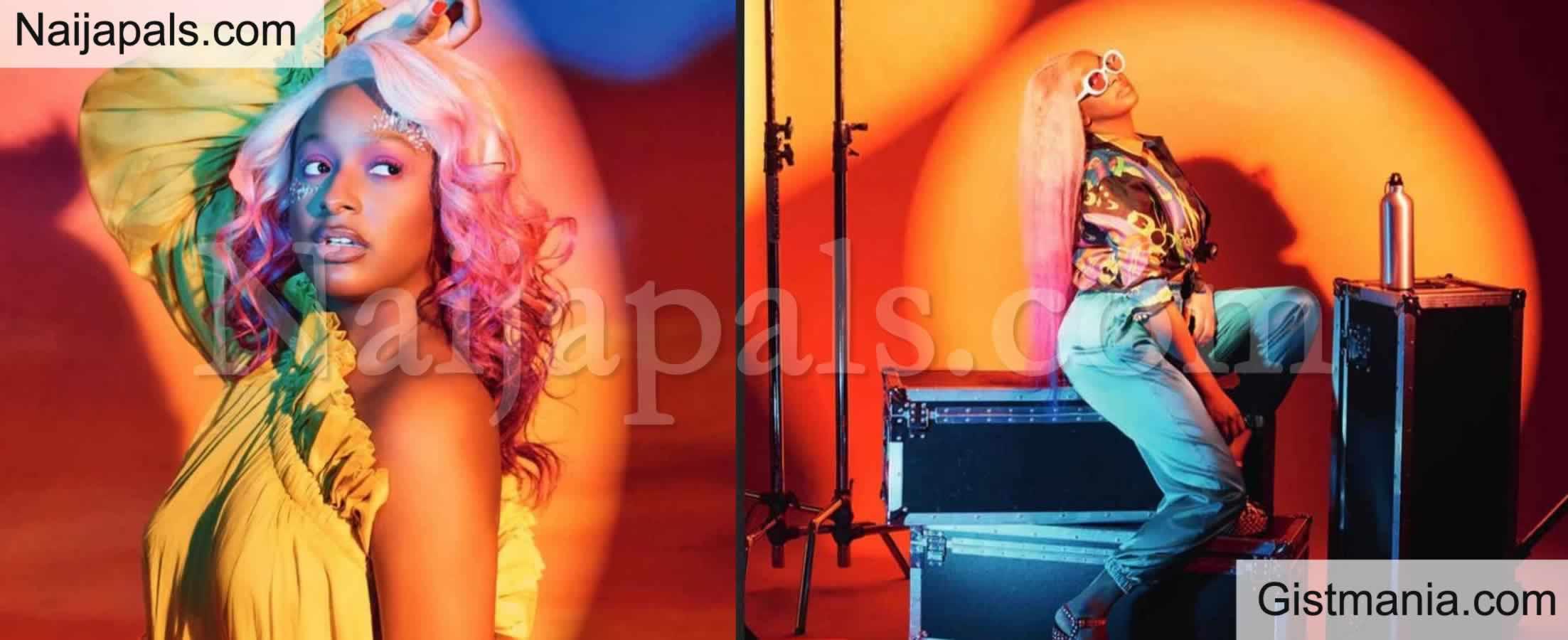 <img alt='.' class='lazyload' data-src='https://img.gistmania.com/emot/kiss.gif' /> PHOTOS: <b>DJ Cuppy Looks Gorgeous As She Graces Cover Of VirginAtlantic's Inflight Magazine</b>