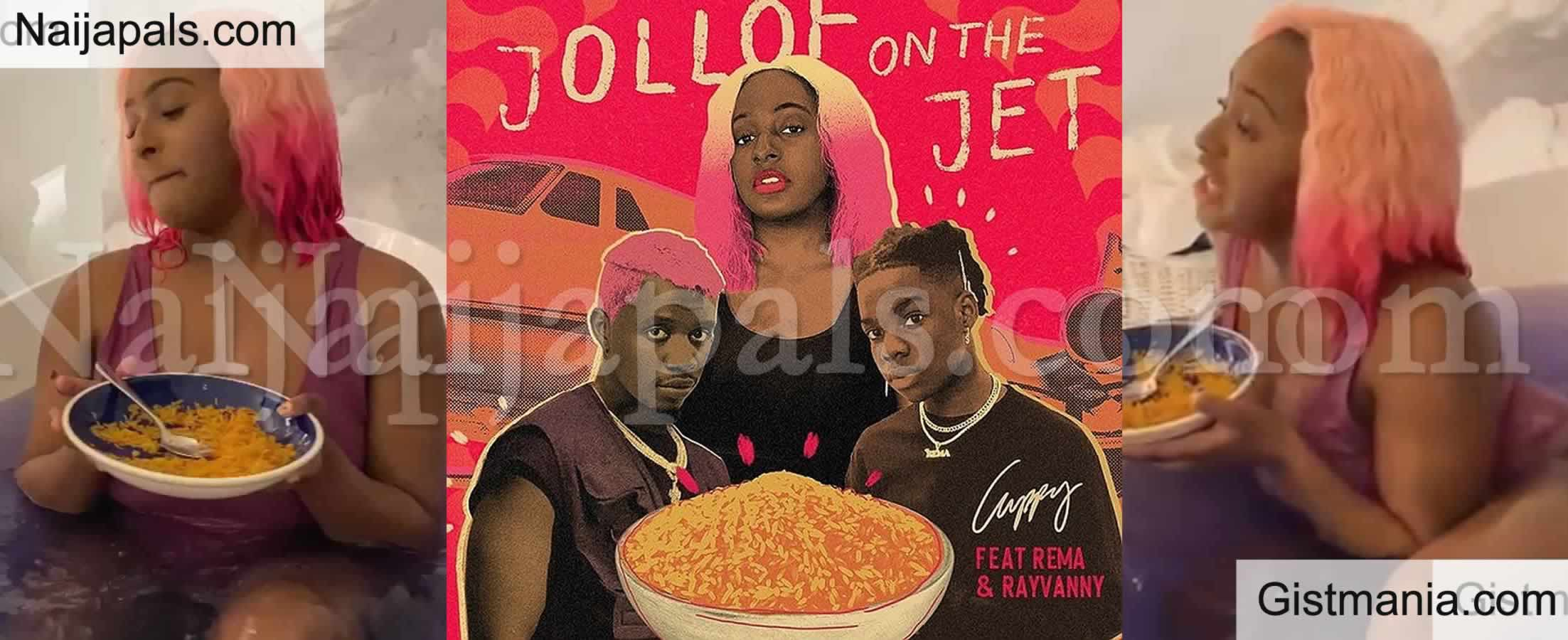 <img alt='.' class='lazyload' data-src='https://img.gistmania.com/emot/video.gif' /> VIDEO: <b>DJ Cuppy Releases Visuals For Her Latest Song, 'Jollof on The Jet'</b>