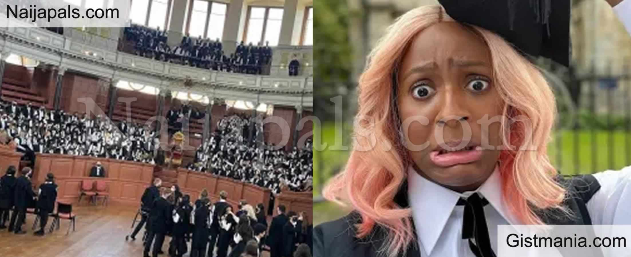 <img alt='.' class='lazyload' data-src='https://img.gistmania.com/emot/comment.gif' /> <b>DJ Cuppy Shares Adorable Pictures From Her Matriculation Ceremony At Oxford University</b>