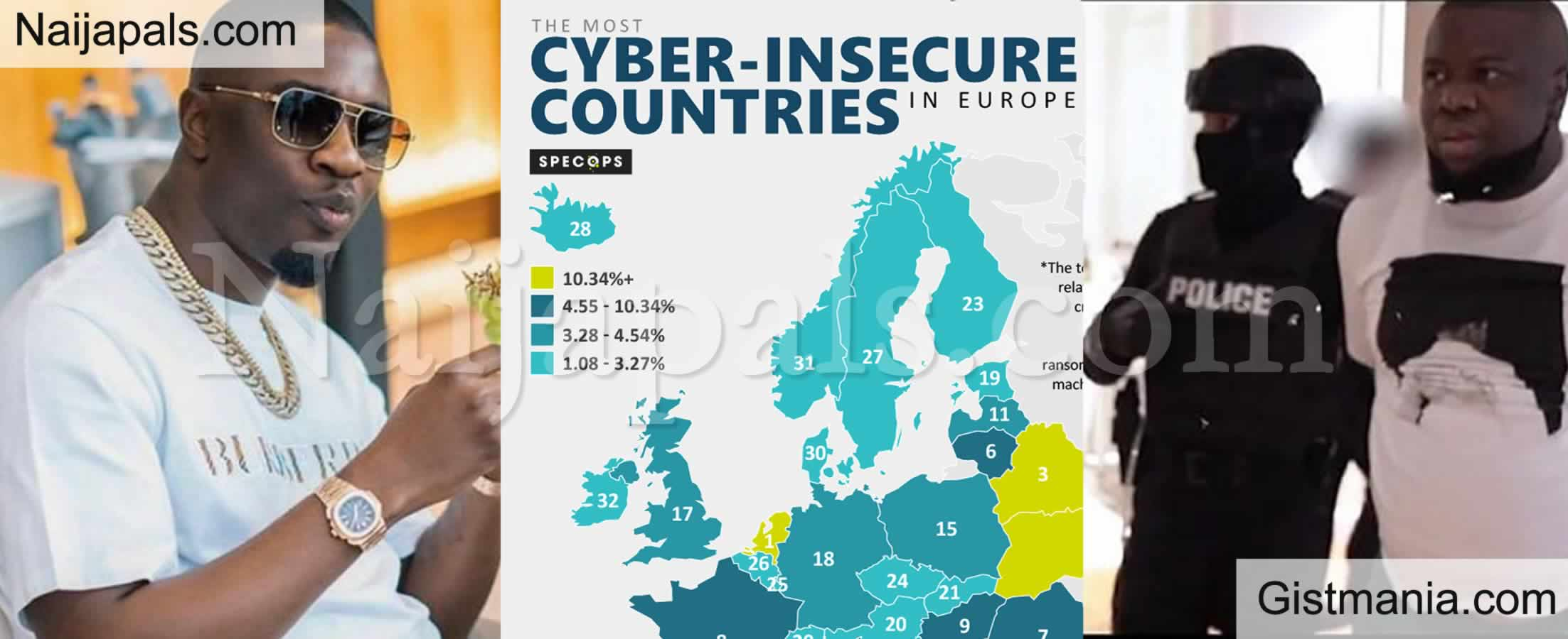 <img alt='.' class='lazyload' data-src='https://img.gistmania.com/emot/comment.gif' /> <b>Where is Nigeria in Top 20 Countries With The Highest Rate of Cybercrime in The World</b> (See List)