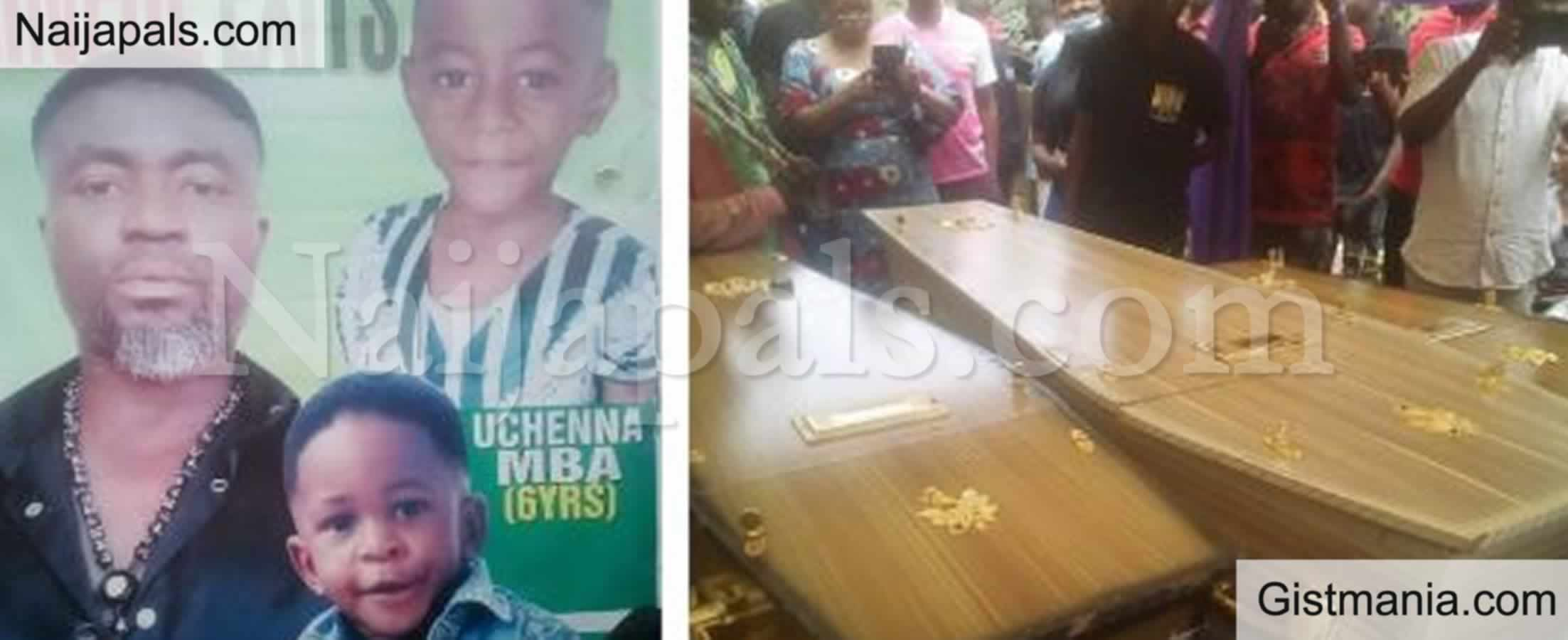 <img alt='.' class='lazyload' data-src='https://img.gistmania.com/emot/cry.gif' /> <b>Nigerian Man & His 2 Kids Who Died In South Africa Laid To Rest</b>