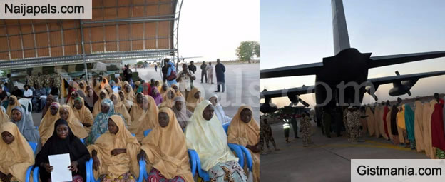 Nigerian Airforce Transfer Freed #Dapchigirls From Abuja