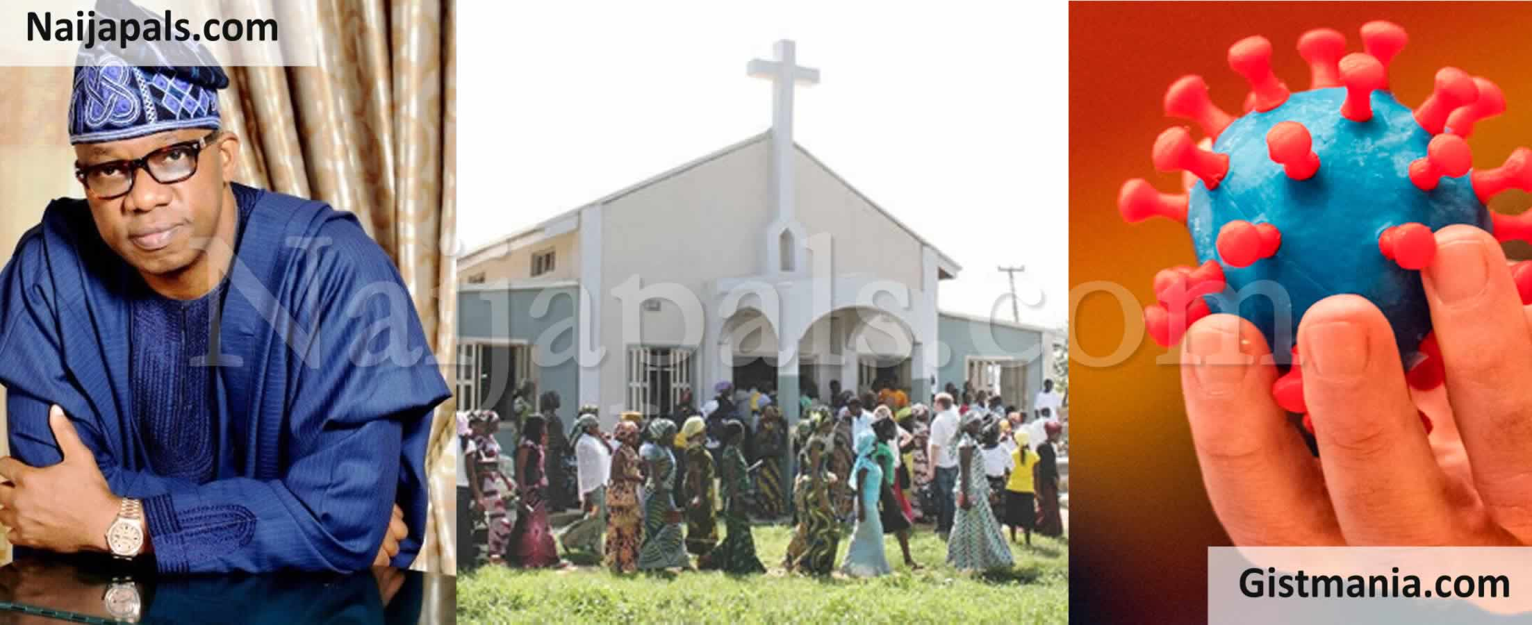 <img alt='.' class='lazyload' data-src='https://img.gistmania.com/emot/comment.gif' /> <b>'Why We Can't Open Churches Yet'</b> – Ogun Govt Replies CAN, Justifies Opening Of Markets