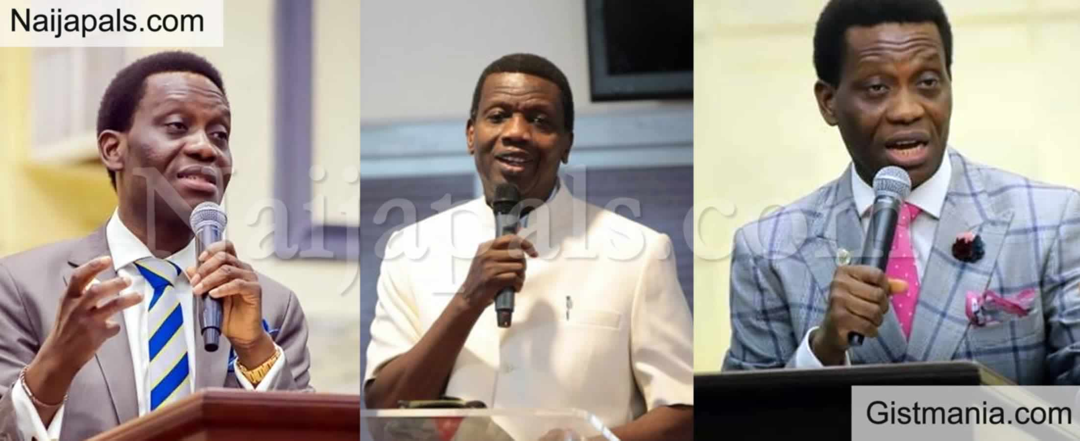 "<img alt='.' class='lazyload' data-src='https://img.gistmania.com/emot/comment.gif' /> <b>""Don't Cry For My Son, Keep On Praying For Us"" - Adeboye Urges Nigerians Over Demise Of Son</b>"