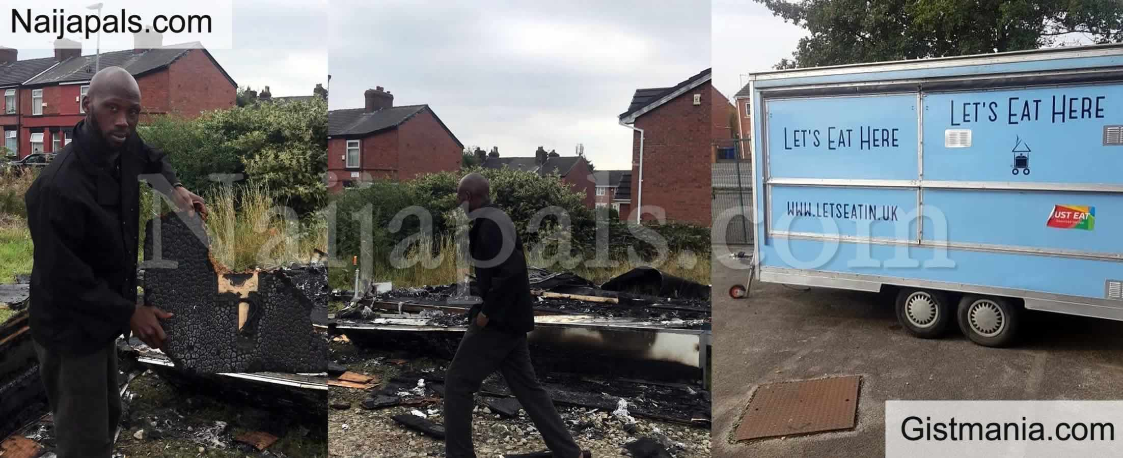 <img alt='.' class='lazyload' data-src='https://img.gistmania.com/emot/photo.png' /> <b>N48M Raised For Nigerian Man, David Kamson Who's Suya Shop Was Burnt By a Racist In The UK</b>