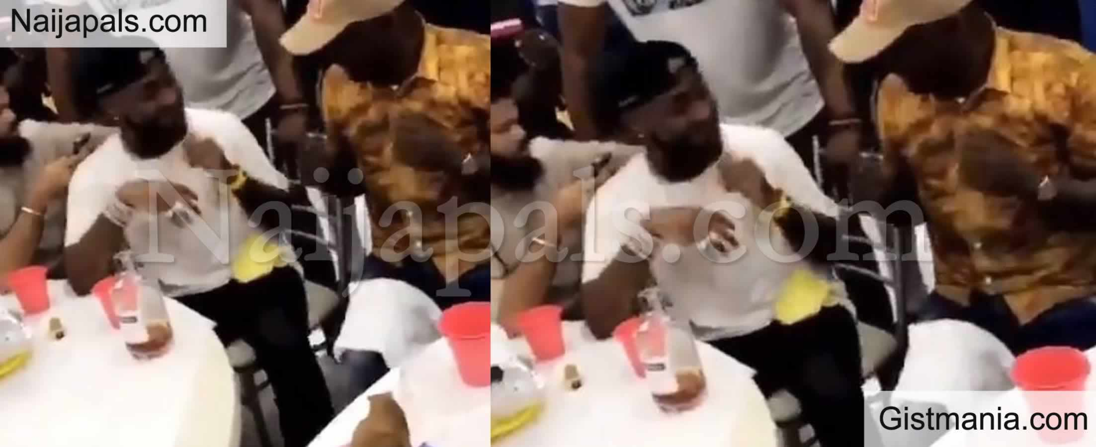<img alt='.' class='lazyload' data-src='https://img.gistmania.com/emot/video.gif' /> <b>Nigerian Singer, Davido Spotted Teaching Fuji Maestro, Pasuma How To Do Palliative Dance</b> (Video)