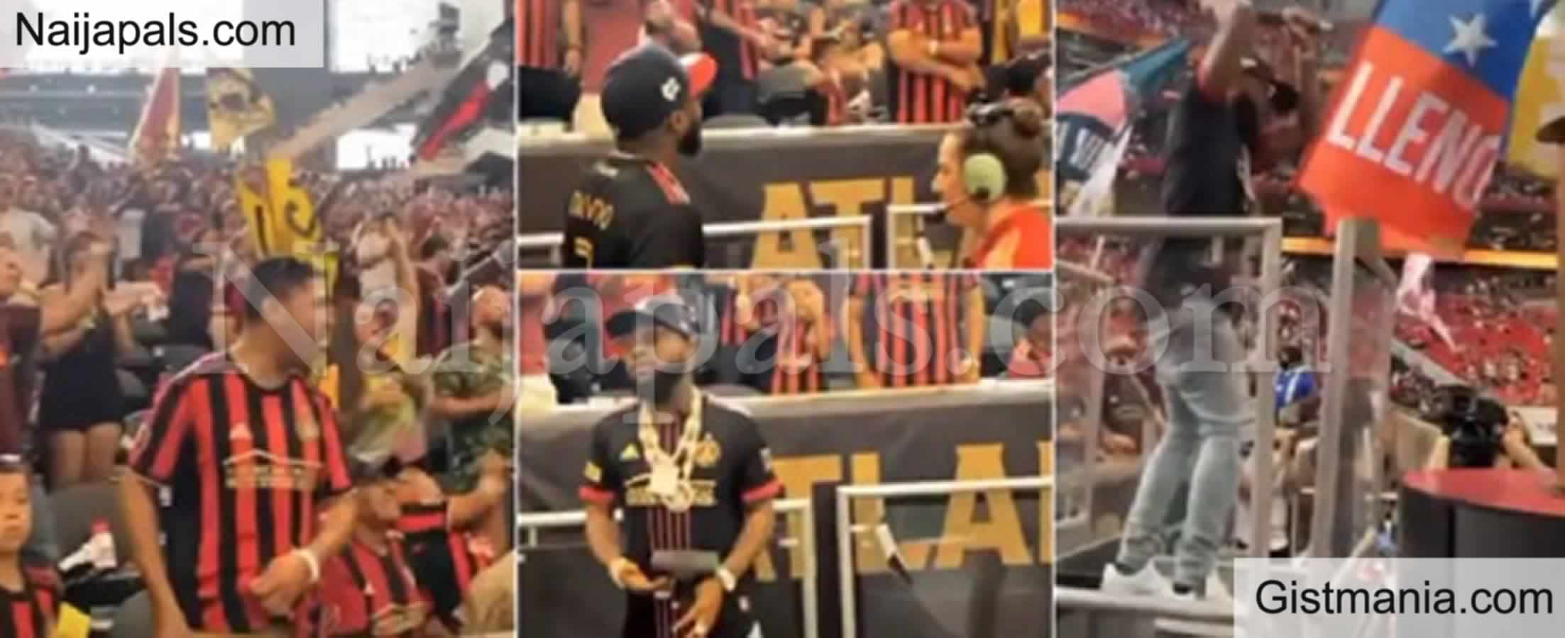 <img alt='.' class='lazyload' data-src='https://img.gistmania.com/emot/thumbs_up.gif' /> <b>Davido Becomes First African Musician to Appear at the 'Atlanta Golden Spike'</b> (VIDEO)