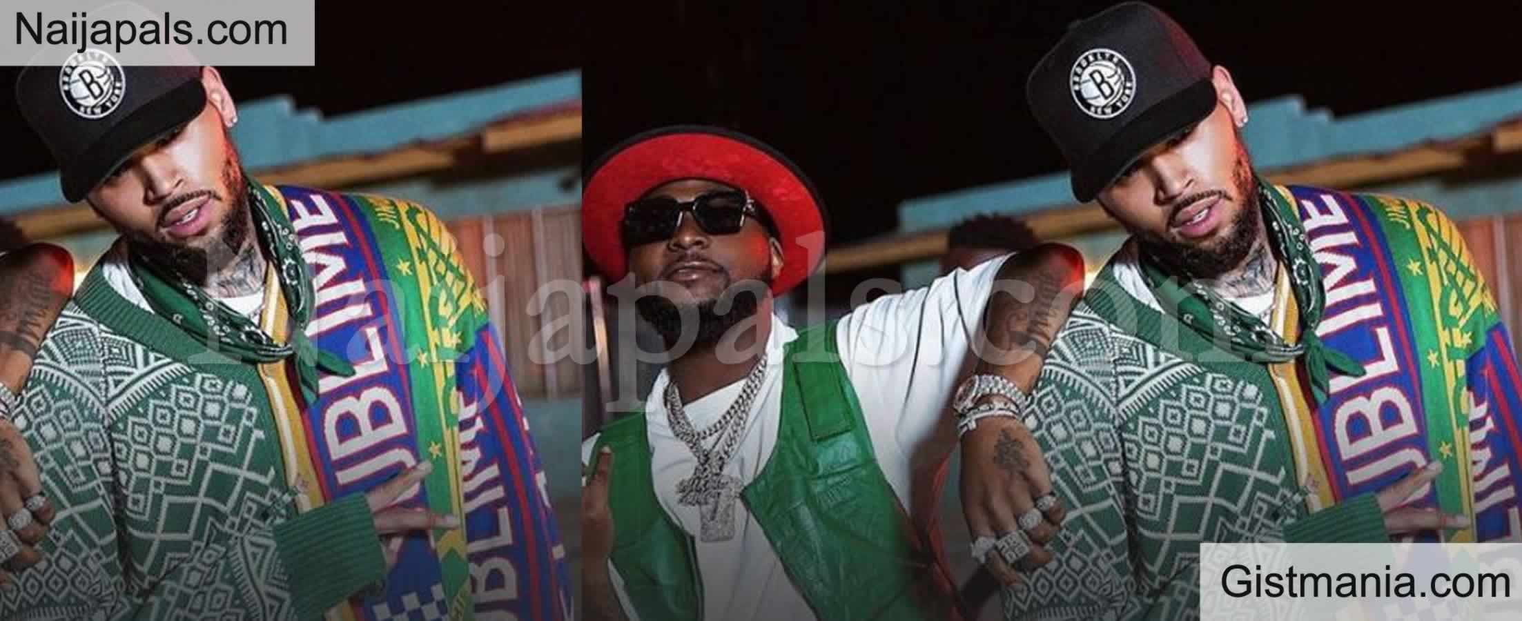 <img alt='.' class='lazyload' data-src='https://img.gistmania.com/emot/thumbs_up.gif' /> <b>Davido's 'Blow My Mind' Video Makes List Of Chris Brown's 35 Best Music As He Celebrates 15 Yrs In Music Industry</b>