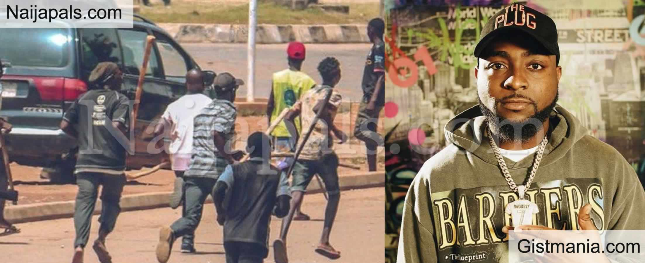 <img alt='.' class='lazyload' data-src='https://img.gistmania.com/emot/comment.gif' /> <b>Afropop Singer, Davido Laments Over How Peaceful #EndSARS Protest Turns To Anarchy</b>