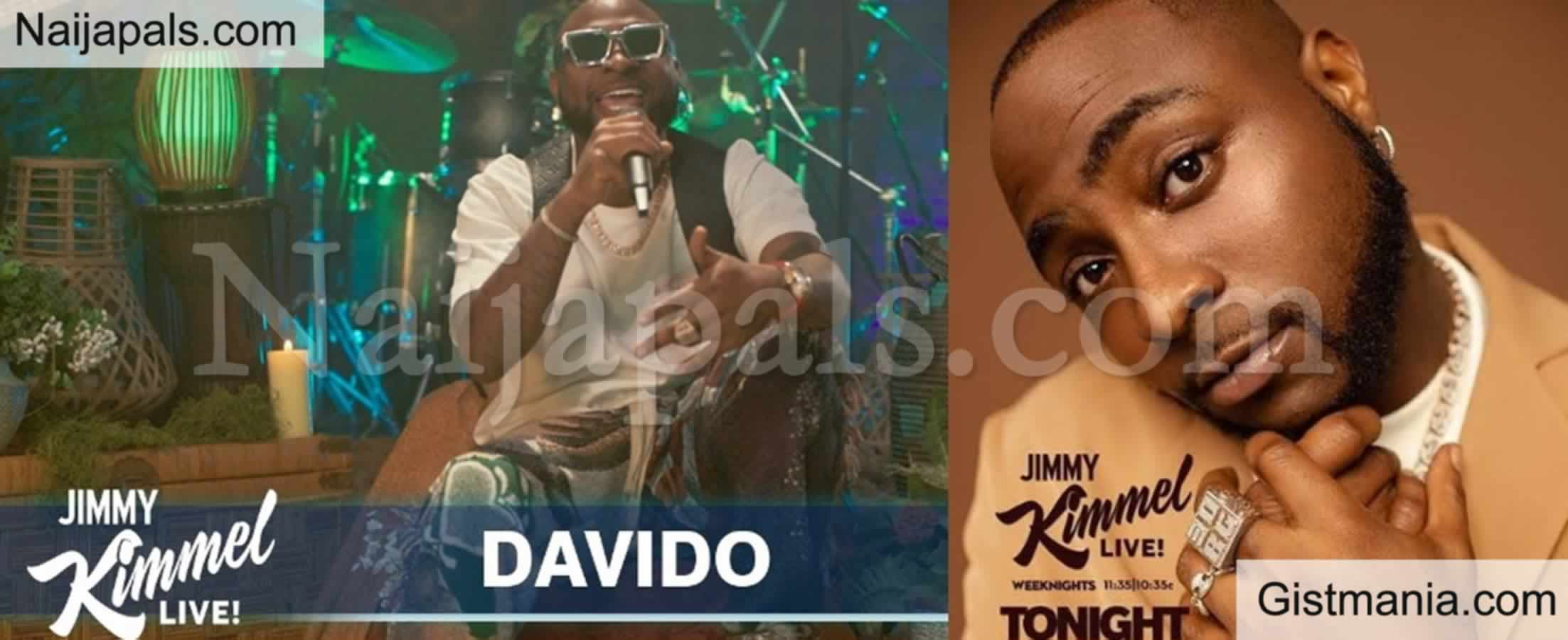 <img alt='.' class='lazyload' data-src='https://img.gistmania.com/emot/thumbs_up.gif' /> Nigerian Artist<b>, Davido Performs On Jimmy Kimmel Live Show </b>[Video]