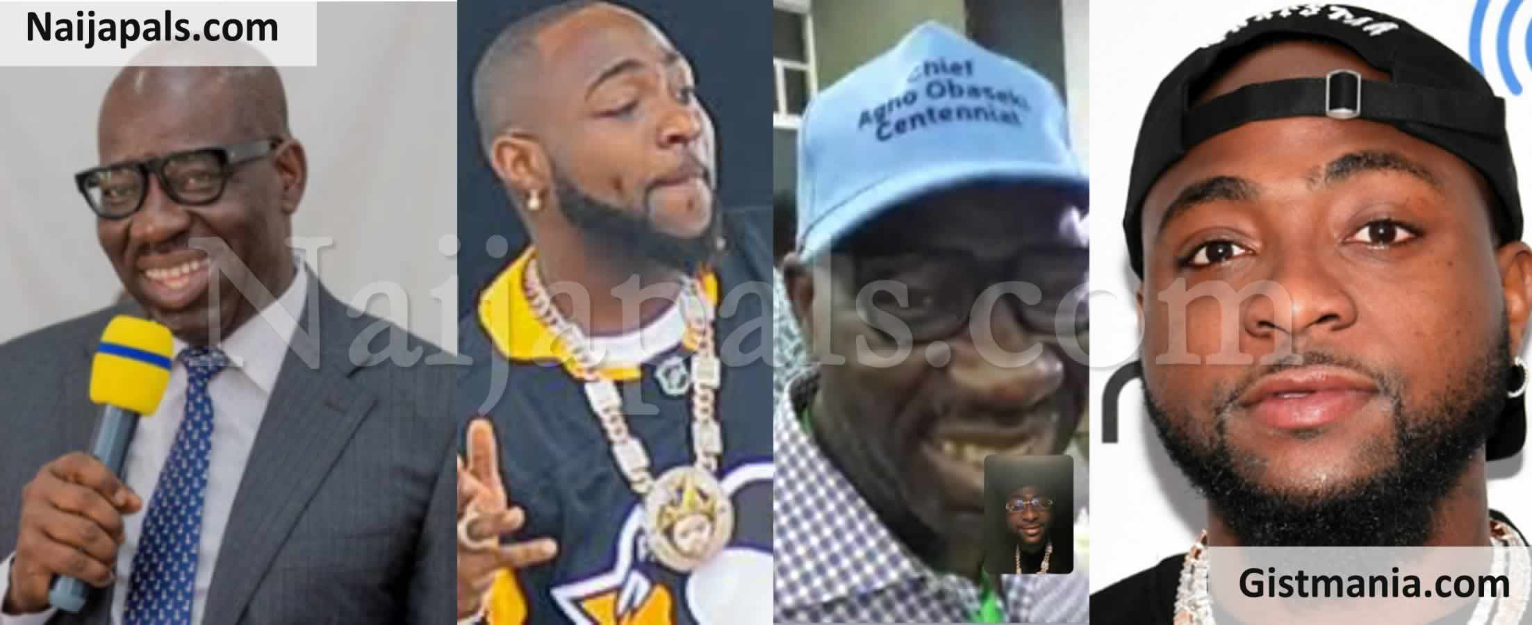 <img alt='.' class='lazyload' data-src='https://img.gistmania.com/emot/thumbs_up.gif' /> #EDODECIDES2020! <b>Davido Calls Governor Obaseki To Congratulate Him</b>