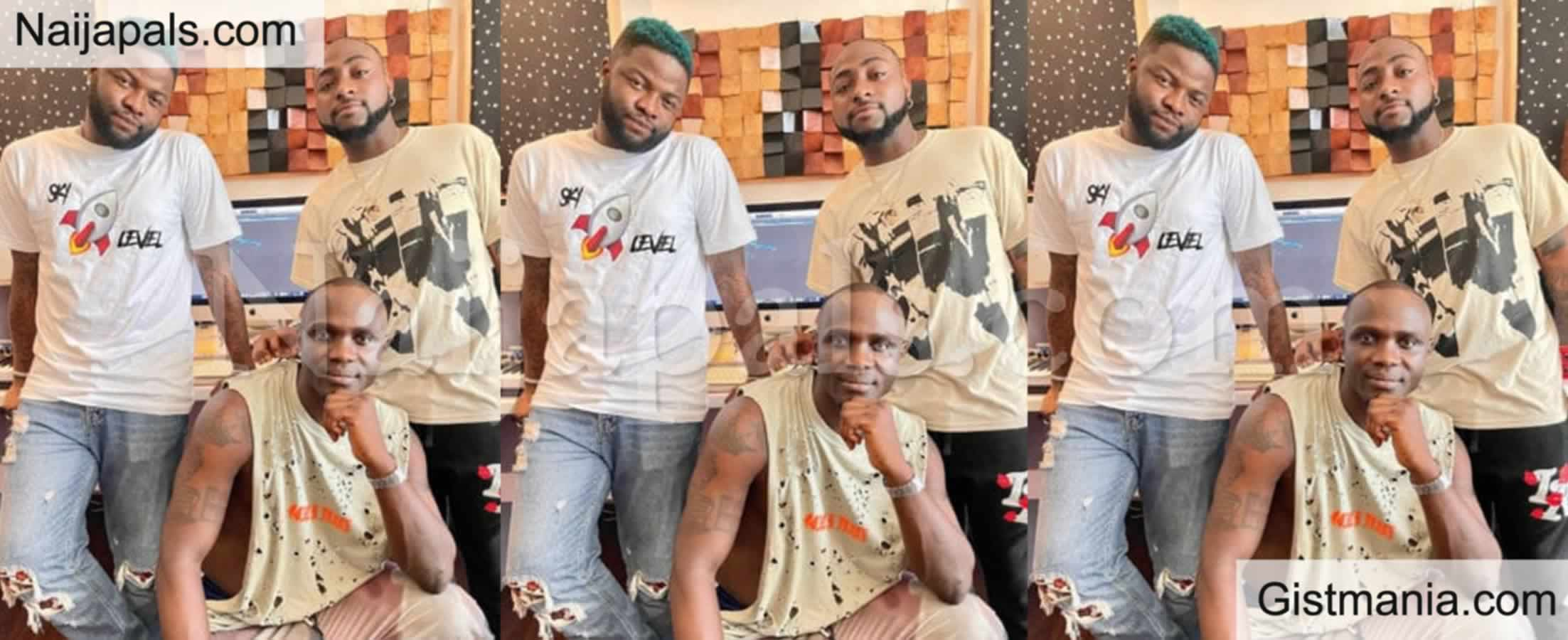 <img alt='.' class='lazyload' data-src='https://img.gistmania.com/emot/video.gif' /> <b>Video Of Nigerian Singer, Scales Spotted Together With Davido In The Video Studio </b>