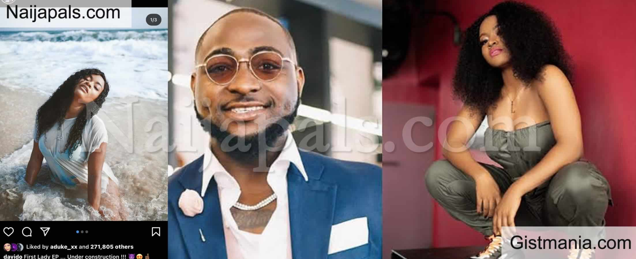 <img alt='.' class='lazyload' data-src='https://img.gistmania.com/emot/photo.png' /> <b>See People's Reactions After Davido Shares Raunchy Photos Of His First Female Signee, Liya</b>